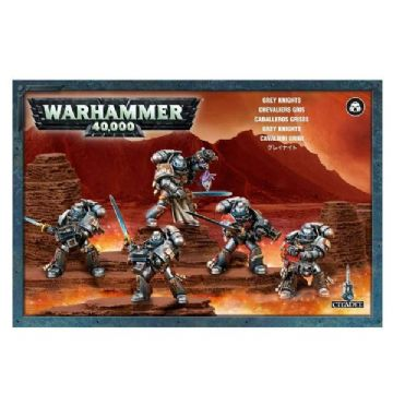 Games Workshop Warhammer 40000 40K Grey Knights Strike Squad 5 Models 57-08